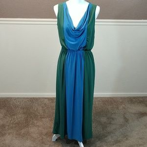 Jon & Anna sz M long maxi stretch sleeveless dress